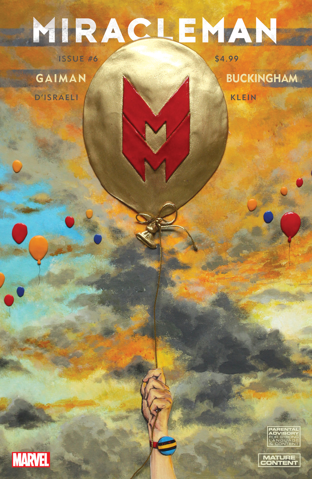 Miracleman by Gaiman & Buckingham (2015) #6