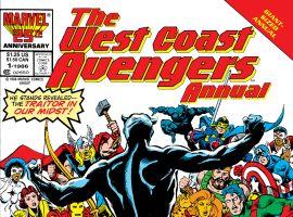 West Coast Avengers Annual (1986) #1
