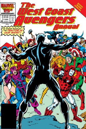 West Coast Avengers Annual #1