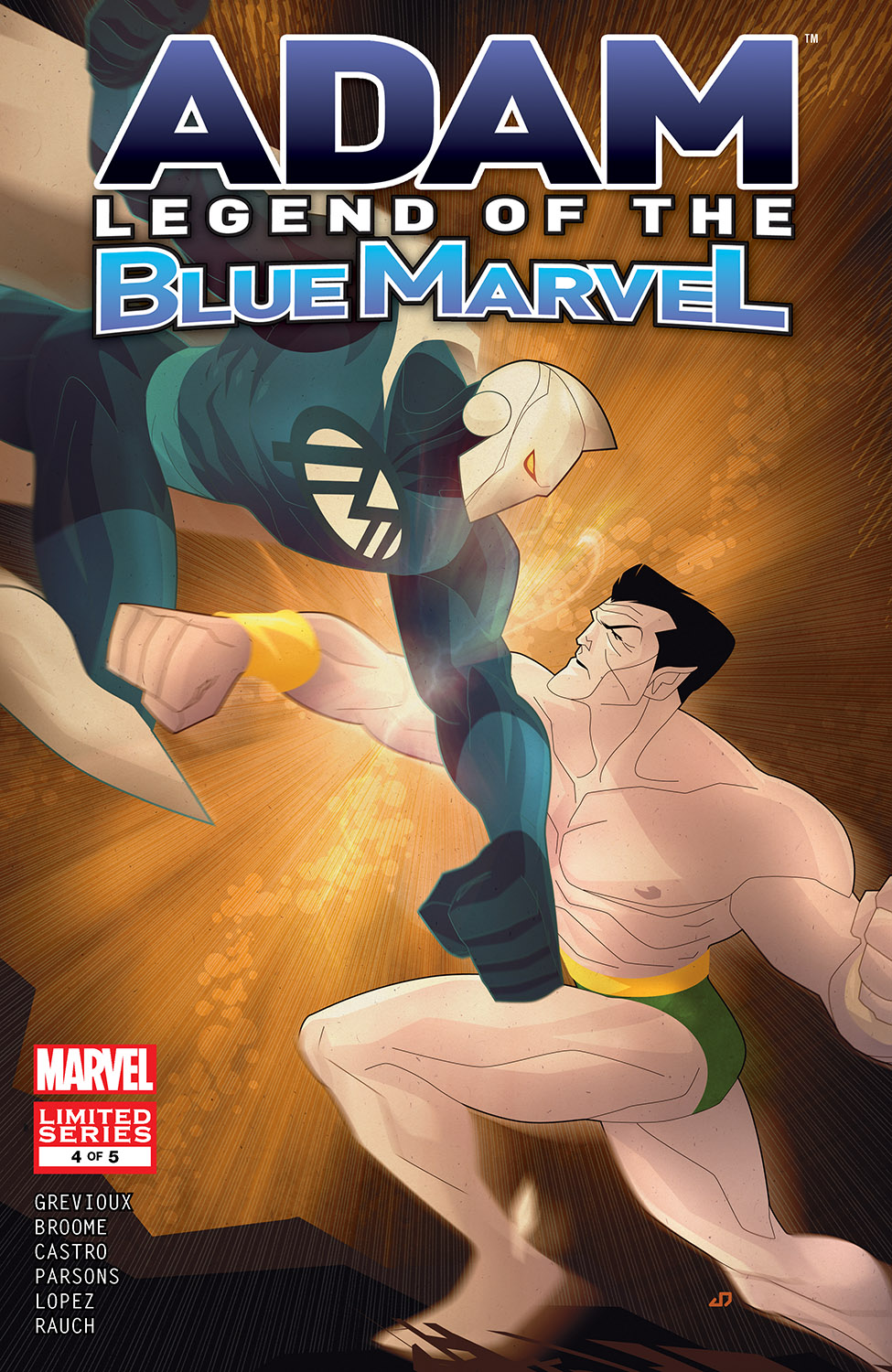 Adam: Legend of the Blue Marvel (2008) #4