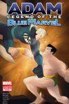 Adam Legend of the Blue Marvel #4 Cover