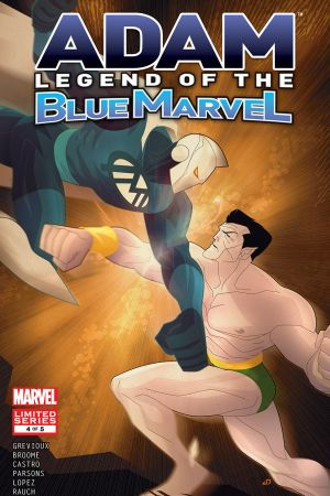 Adam: Legend of the Blue Marvel #4
