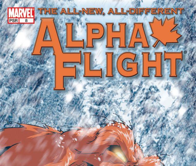 ALPHA FLIGHT (2004) #8 Cover