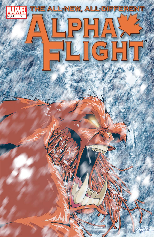 Alpha Flight (2004) #8