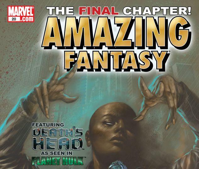 AMAZING FANTASY (2004) #20 Cover