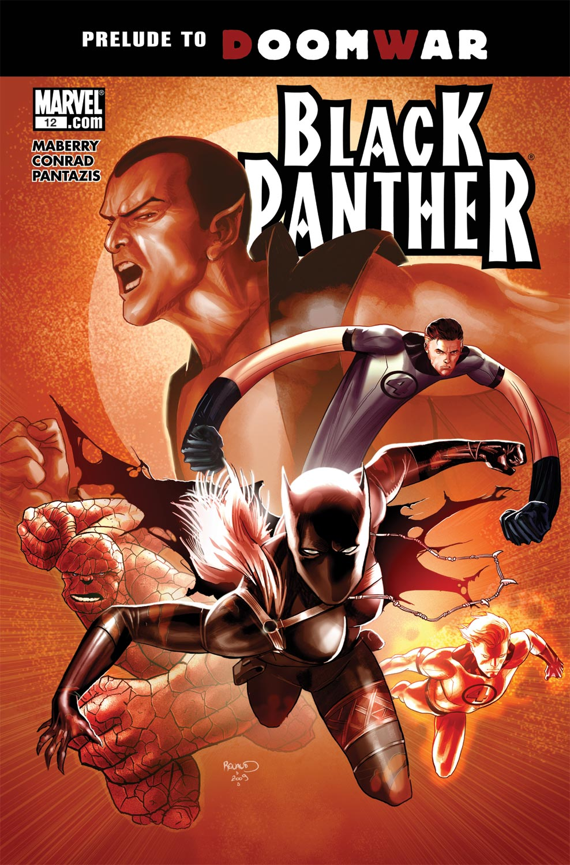 Black Panther (2009) #12