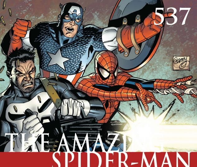 AMAZING SPIDER-MAN (1999) #537 Cover