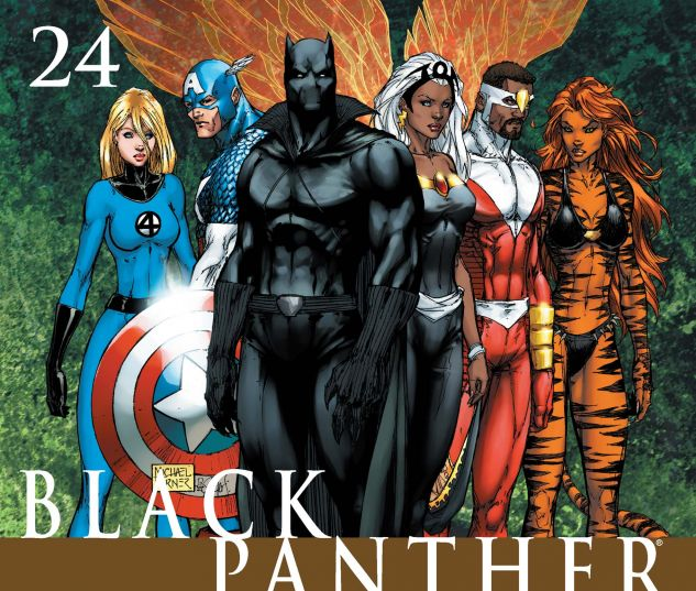 BLACK PANTHER (2005) #24 Cover
