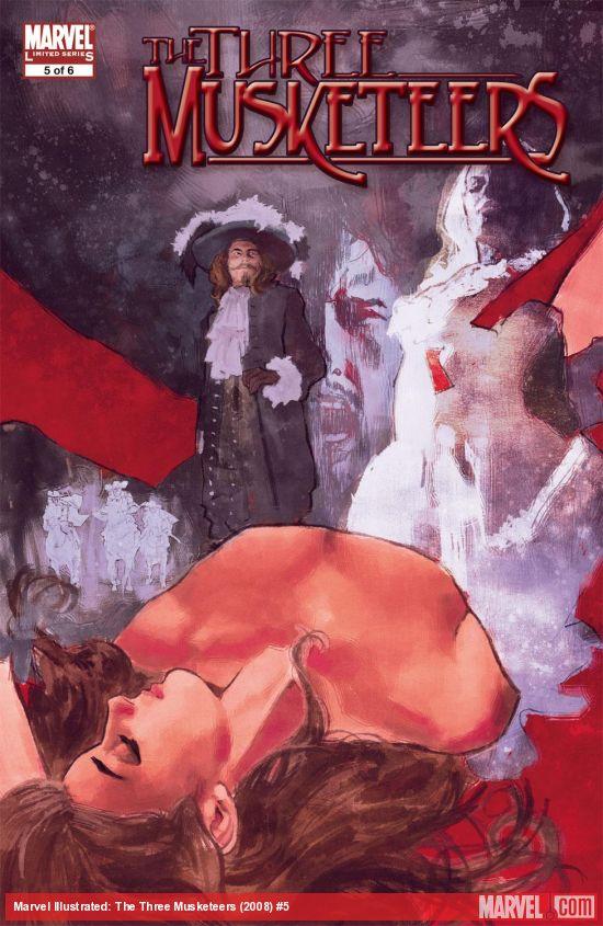Marvel Illustrated: The Three Musketeers (2008) #5