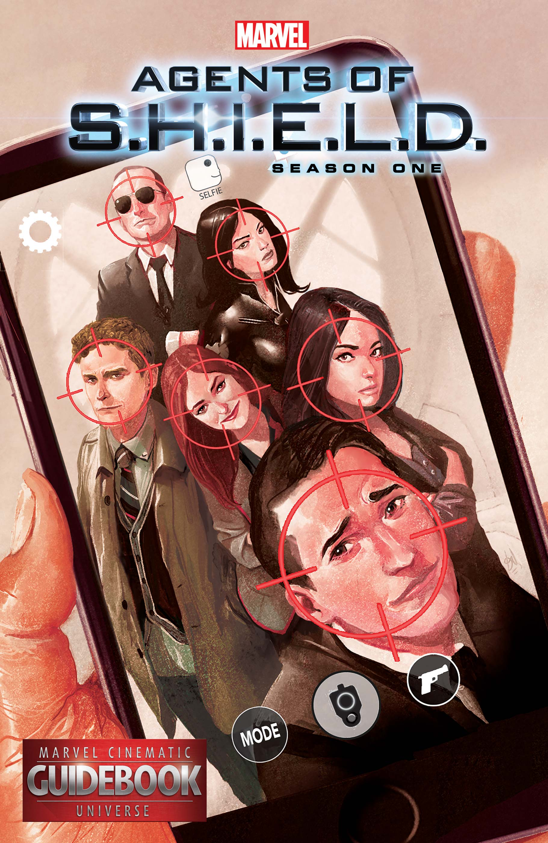 Guidebook to The Marvel Cinematic Universe - Marvel's Agents of S.H.I.E.L.D. Season One (2016) #1