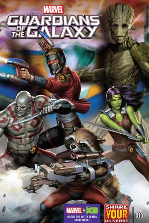 Marvel Universe Guardians of the Galaxy #10