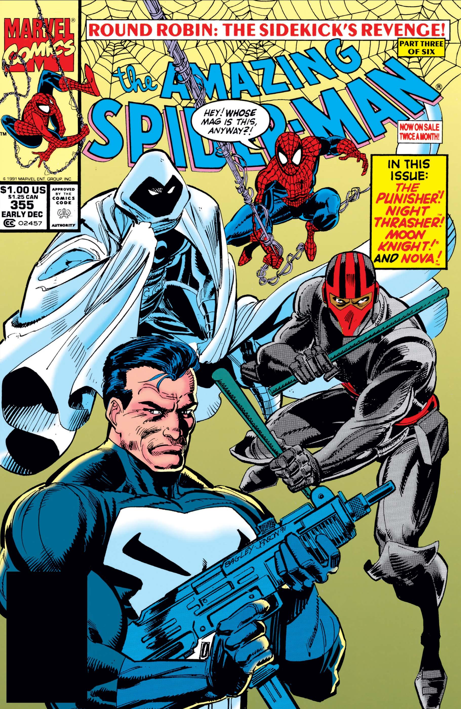 The Amazing Spider-Man (1963) #355