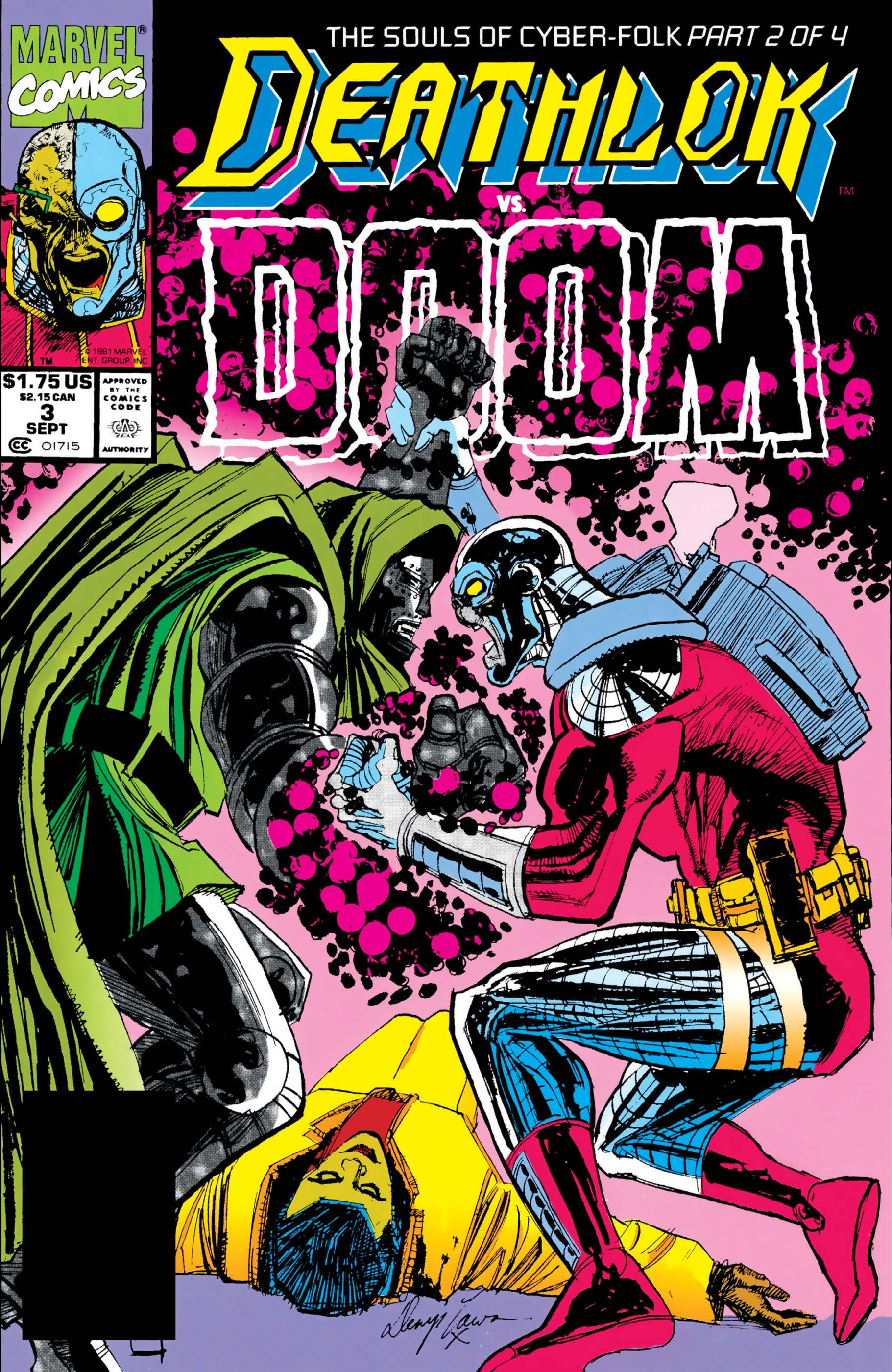 Deathlok (1991) #3