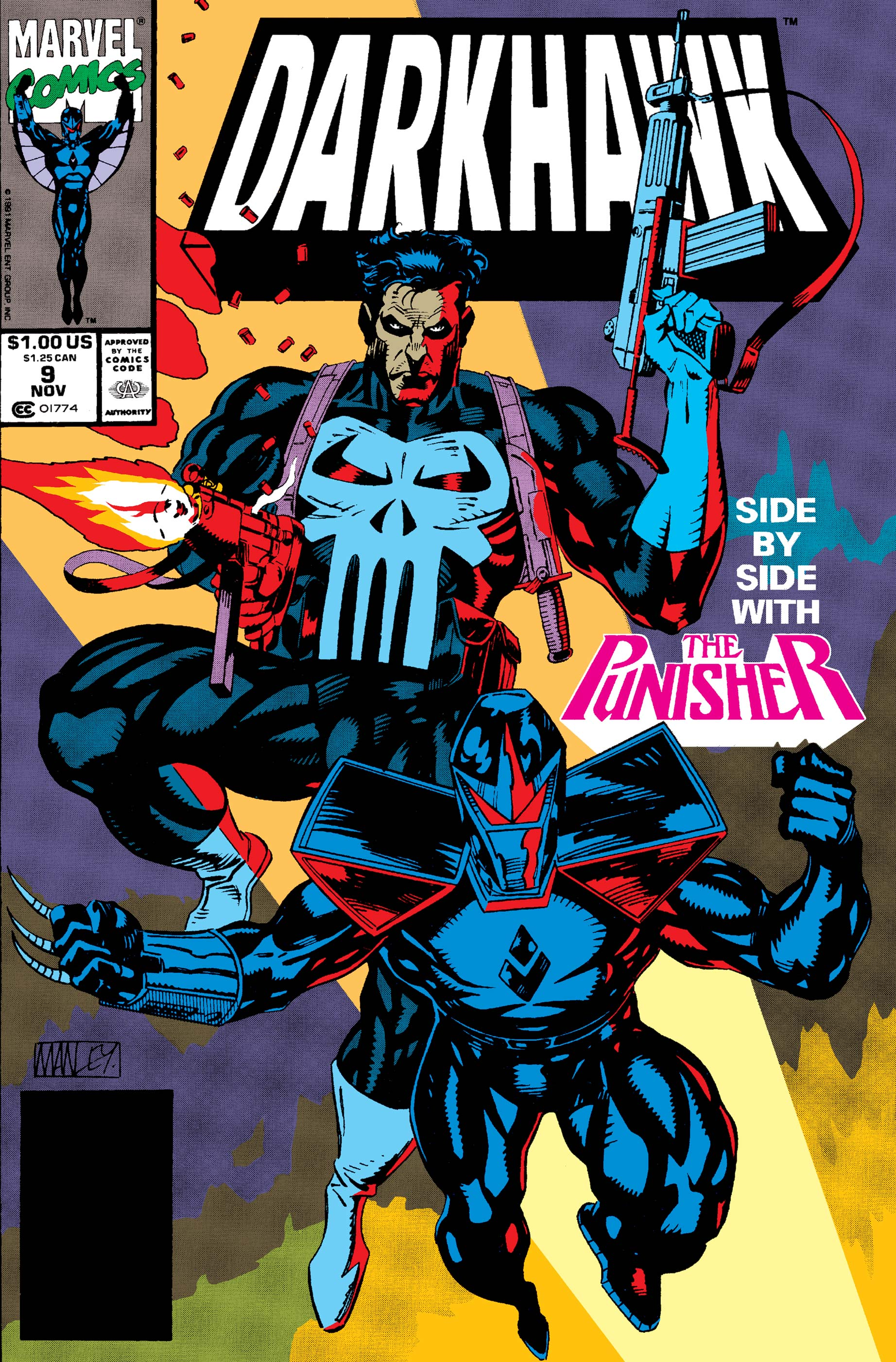 Darkhawk (1991) #9
