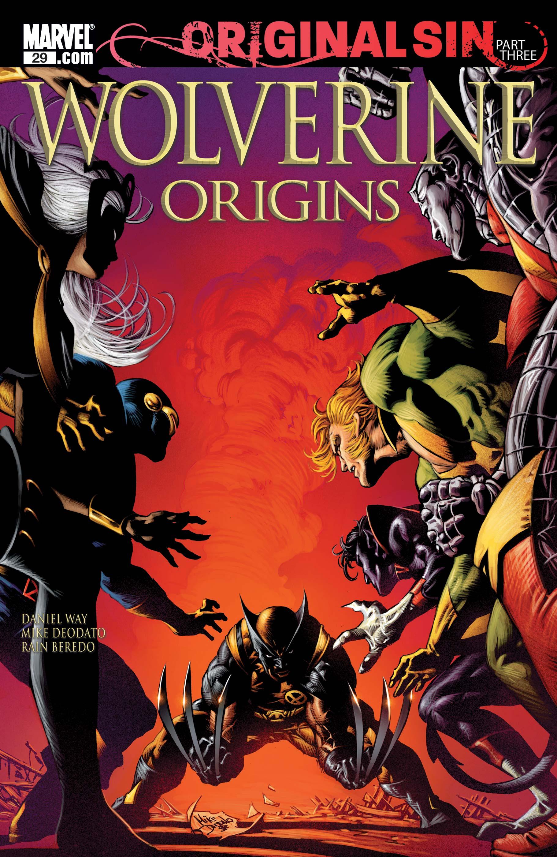 Wolverine Origins (2006) #29
