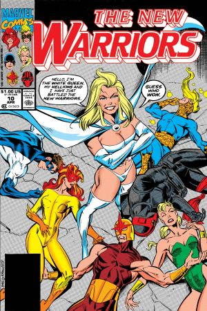 New Warriors (1990) #10