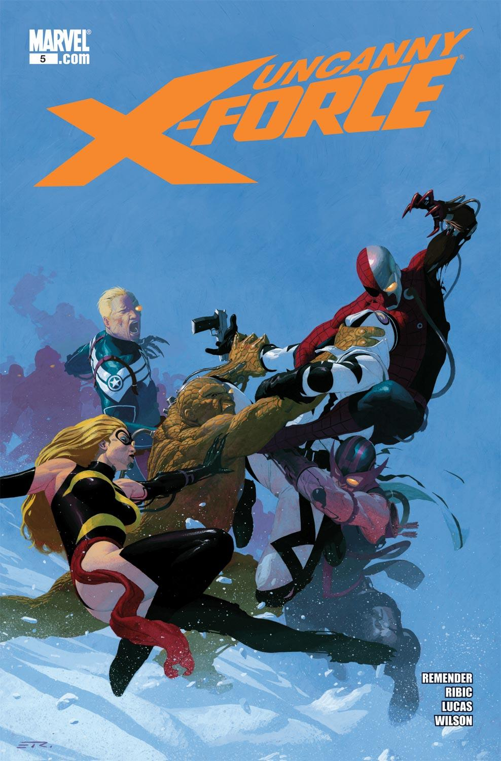 Uncanny X-Force (2010) #5