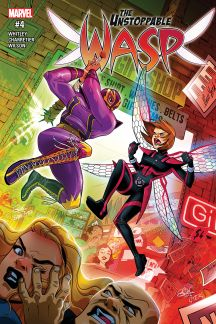 The Unstoppable Wasp (2017) #4