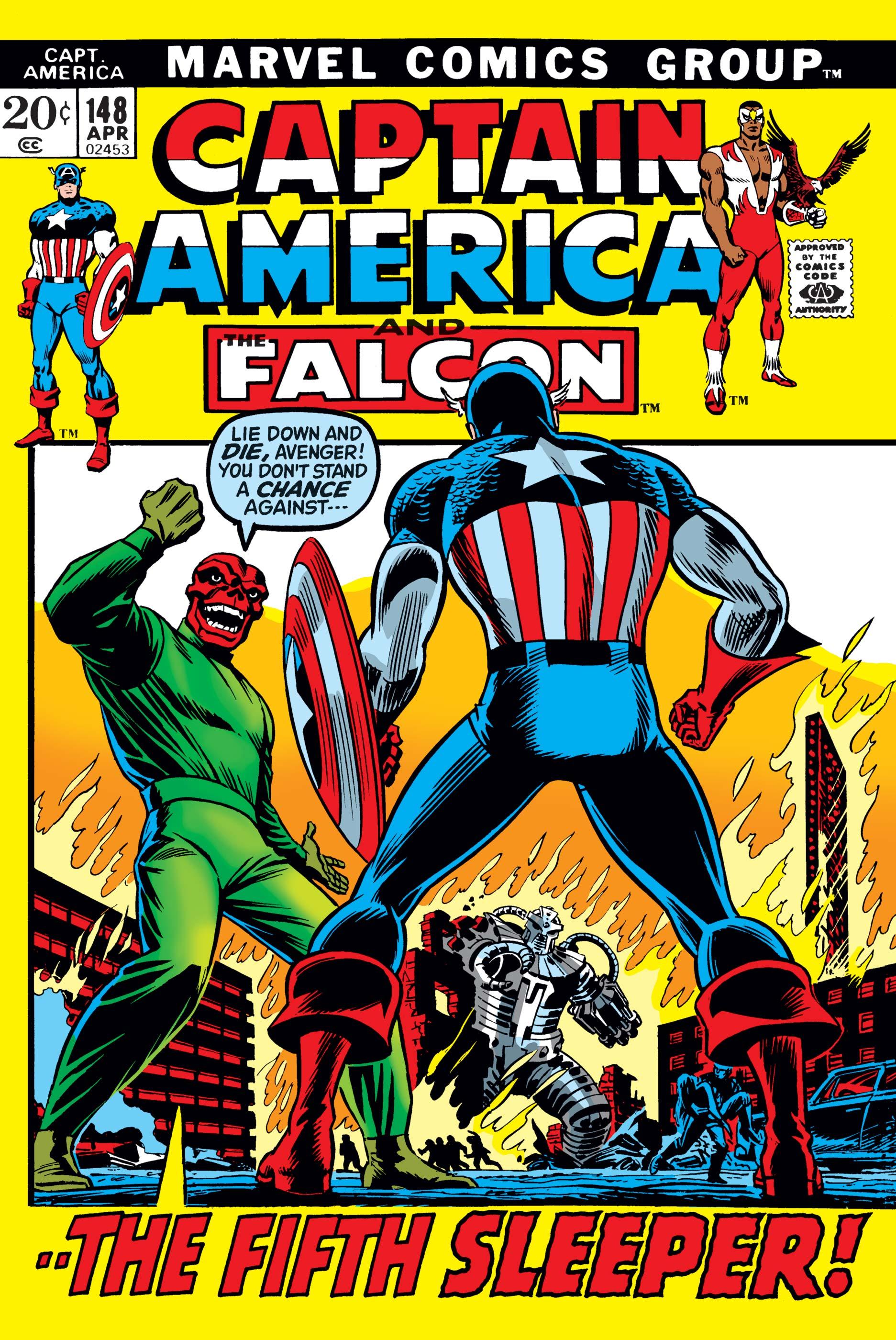 Captain America (1968) #148