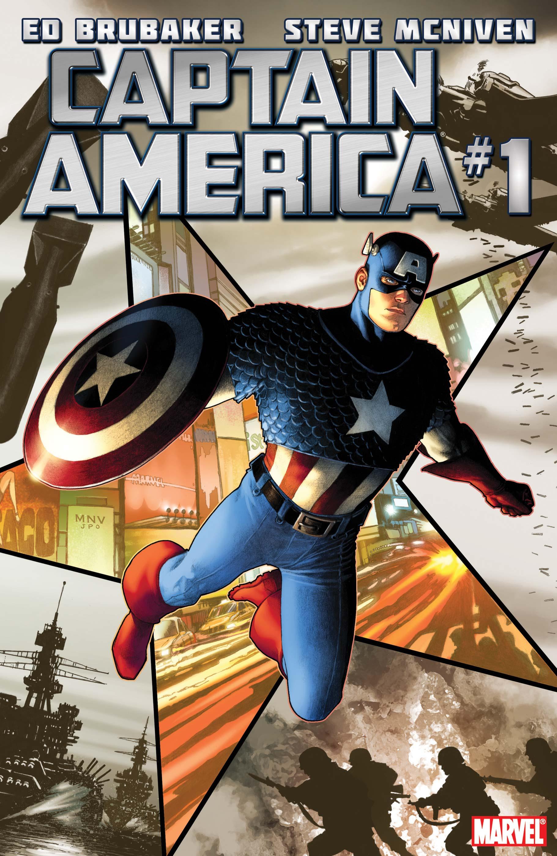 Captain America (2011) #1