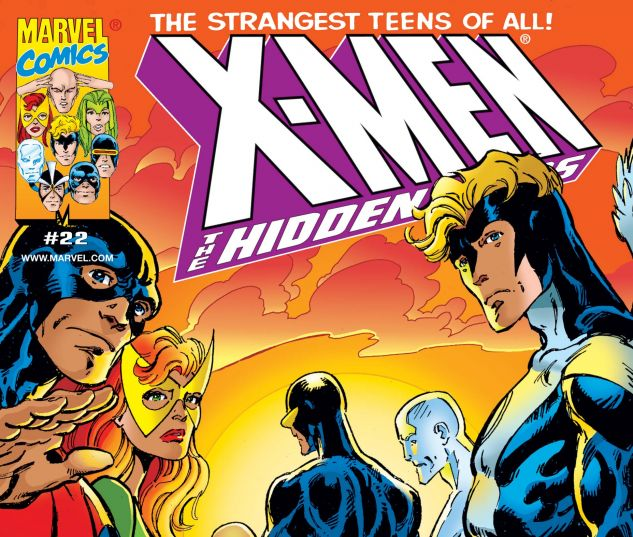 cover from X-Men the Hidden Years (1999) #22