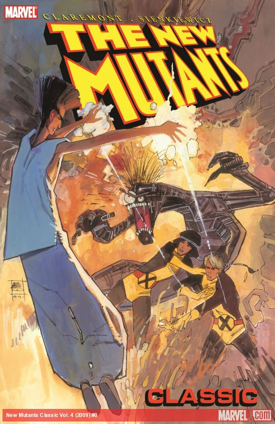 New Mutants Classic Vol. 4 (Trade Paperback)
