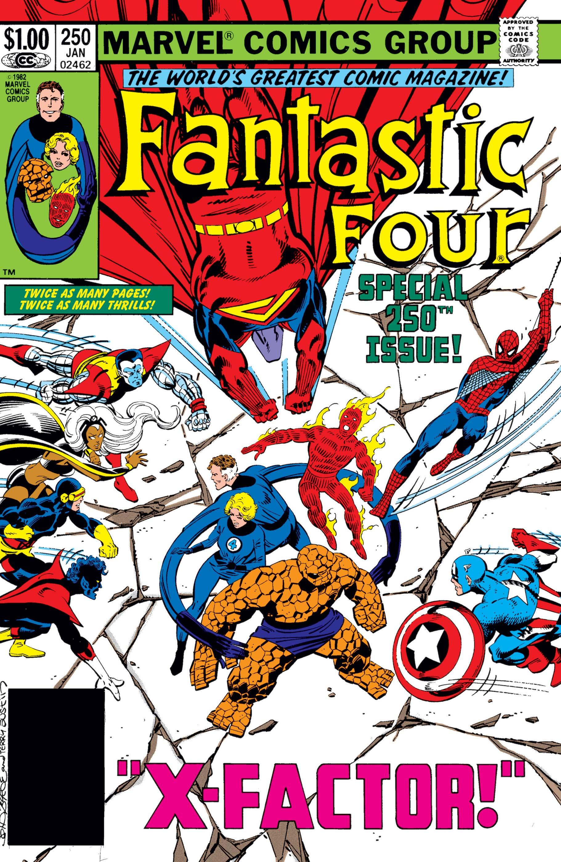 Fantastic Four (1961) #250