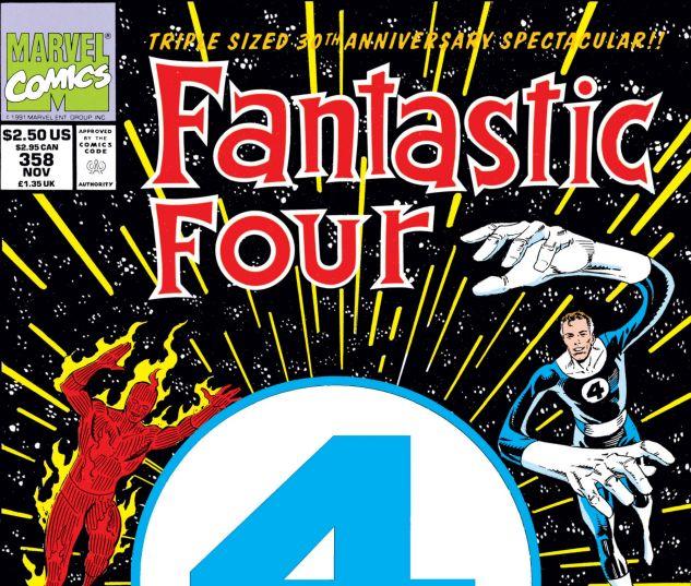 FANTASTIC FOUR (1961) #358