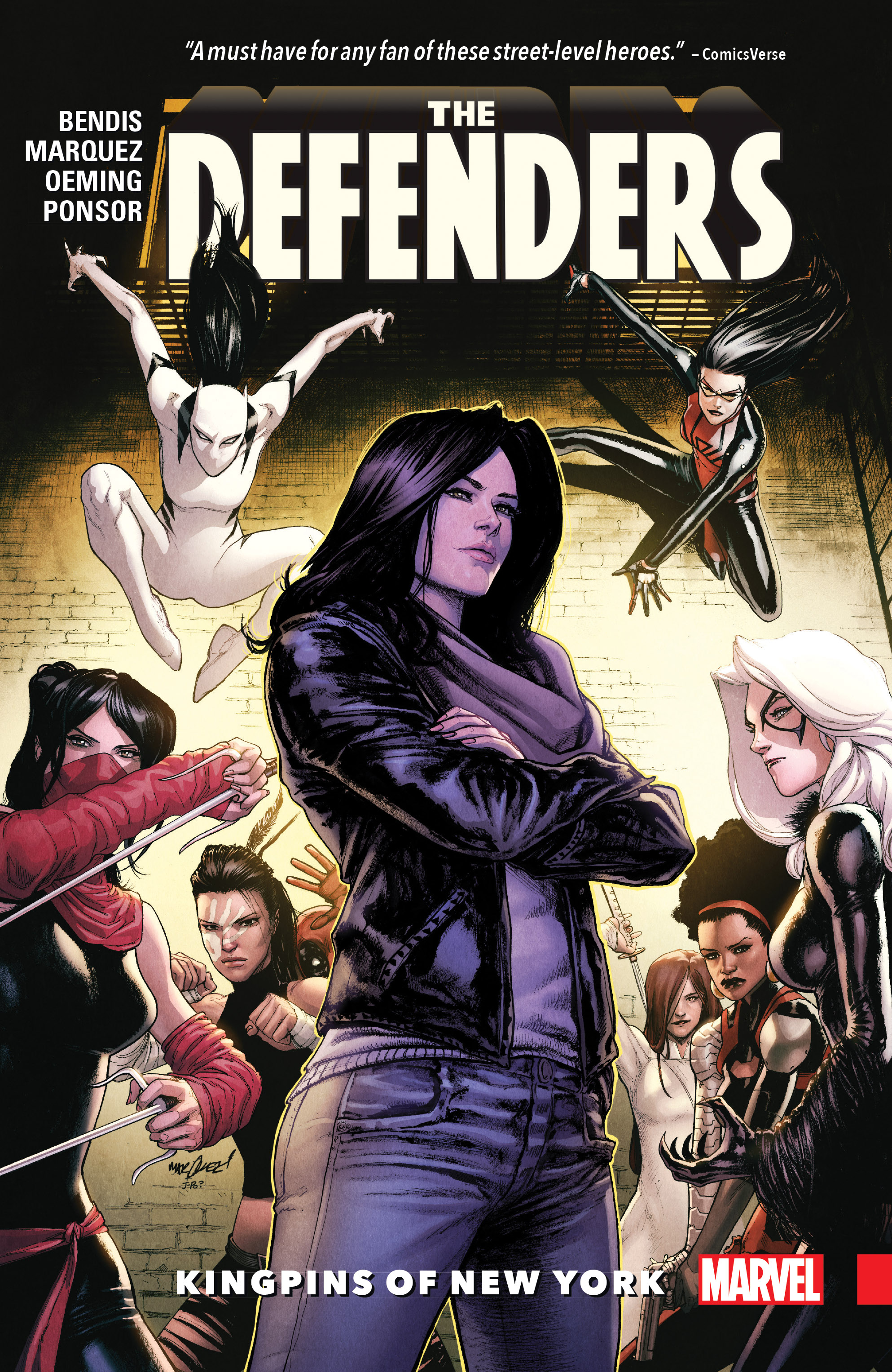 Defenders Vol. 2: Kingpins of New York (Trade Paperback)