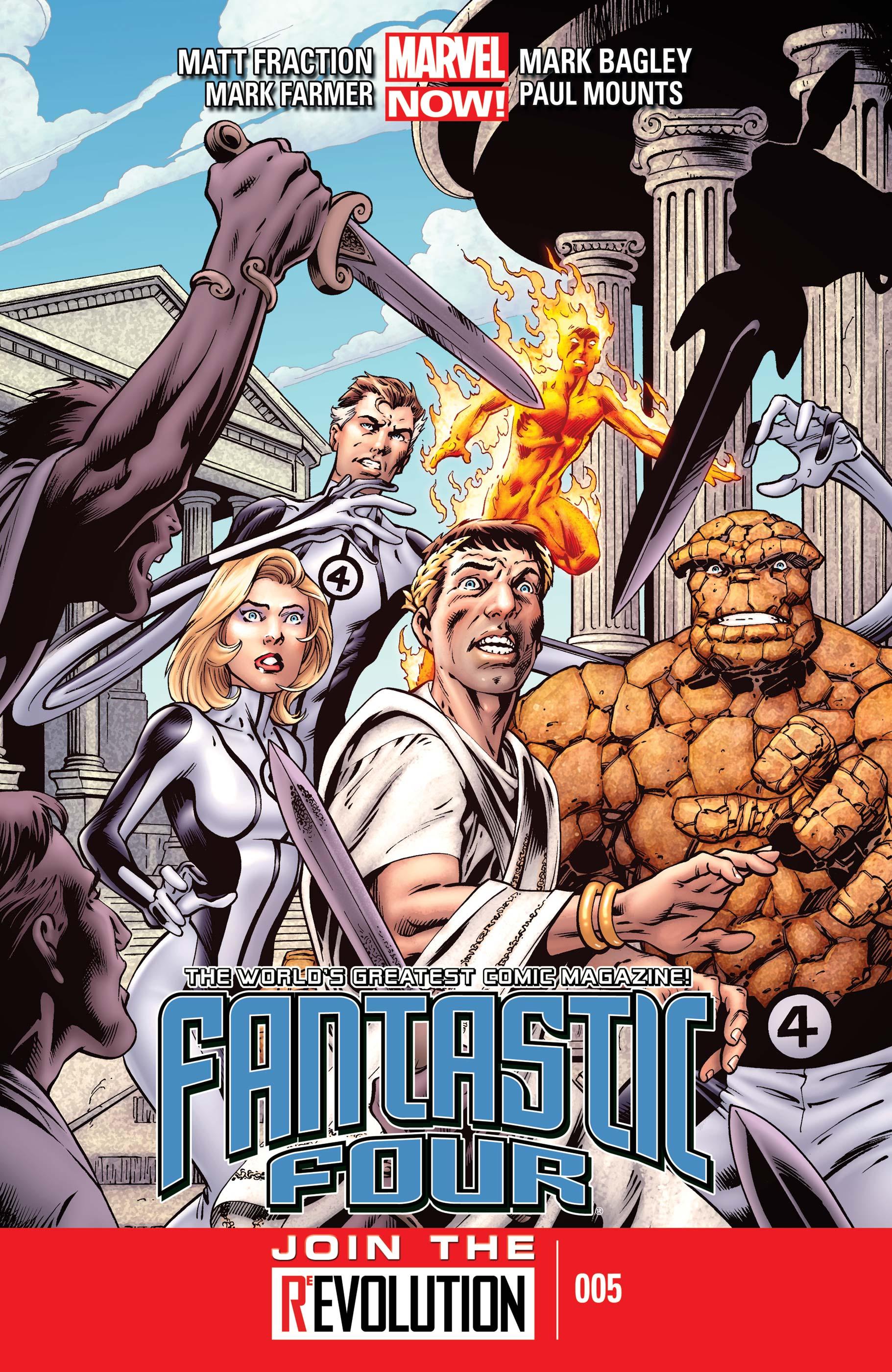 Fantastic Four (2012) #5