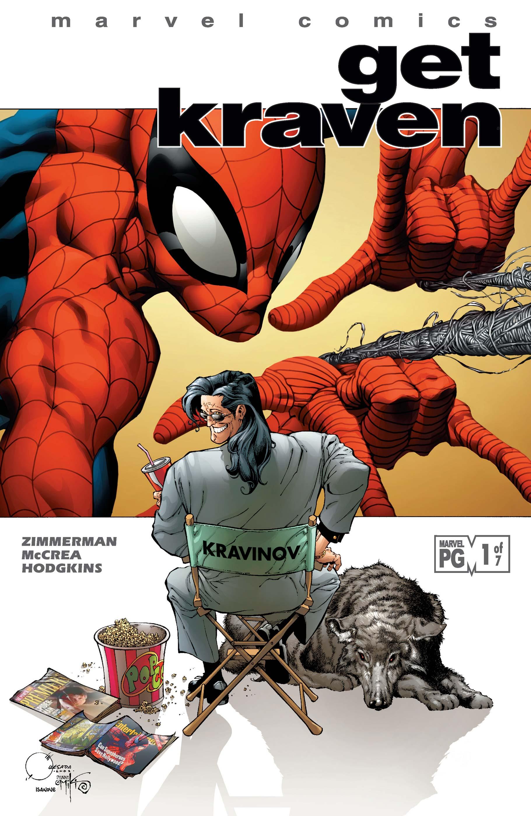 Spider-Man: Get Kraven (2002) #1
