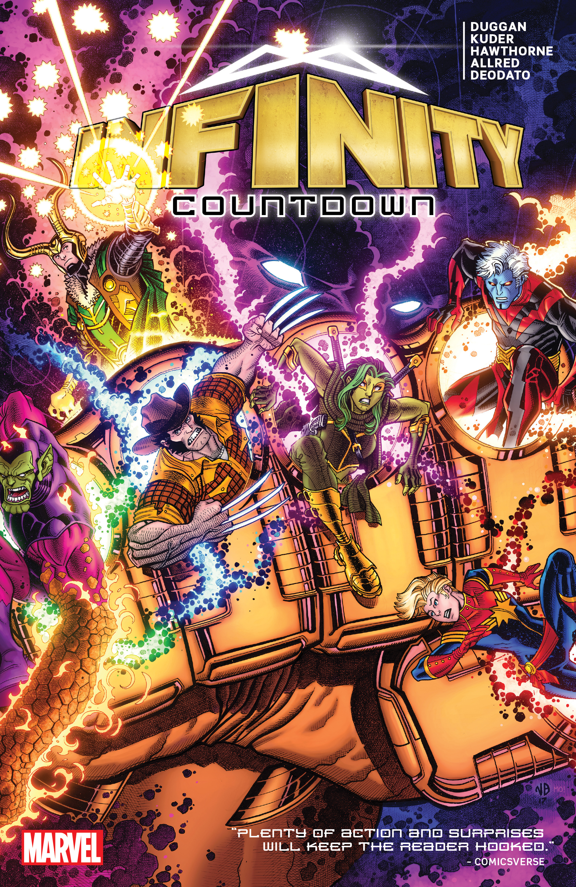 Infinity Countdown (Trade Paperback)