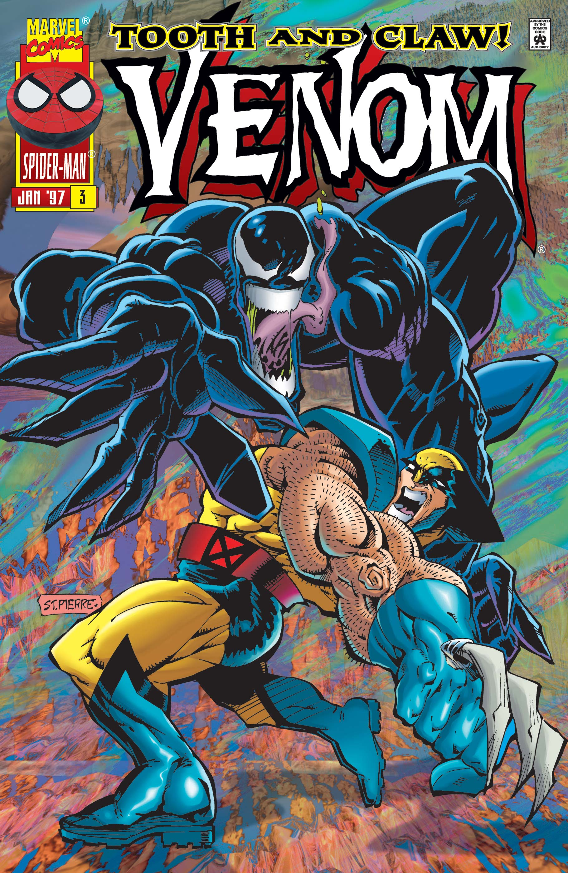 Venom: Tooth and Claw (1996) #3