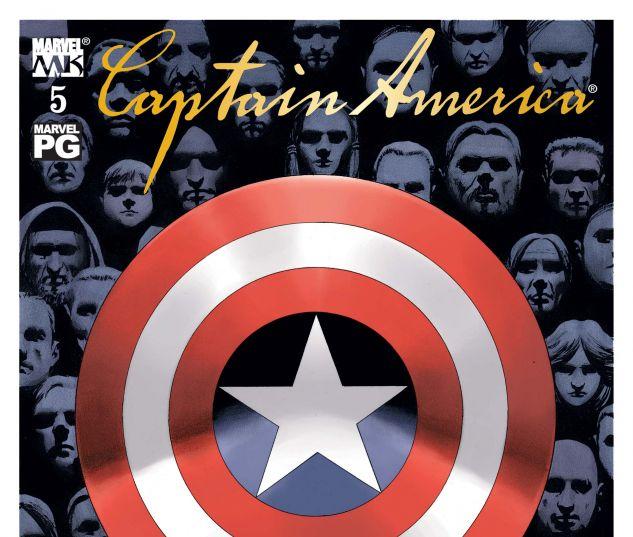 Captain America (2002) #5