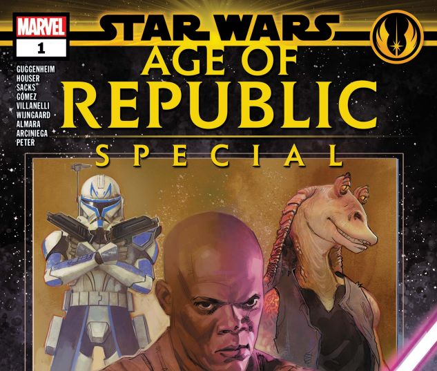cover from Star Wars: Age of the Republic Special (2019) #1