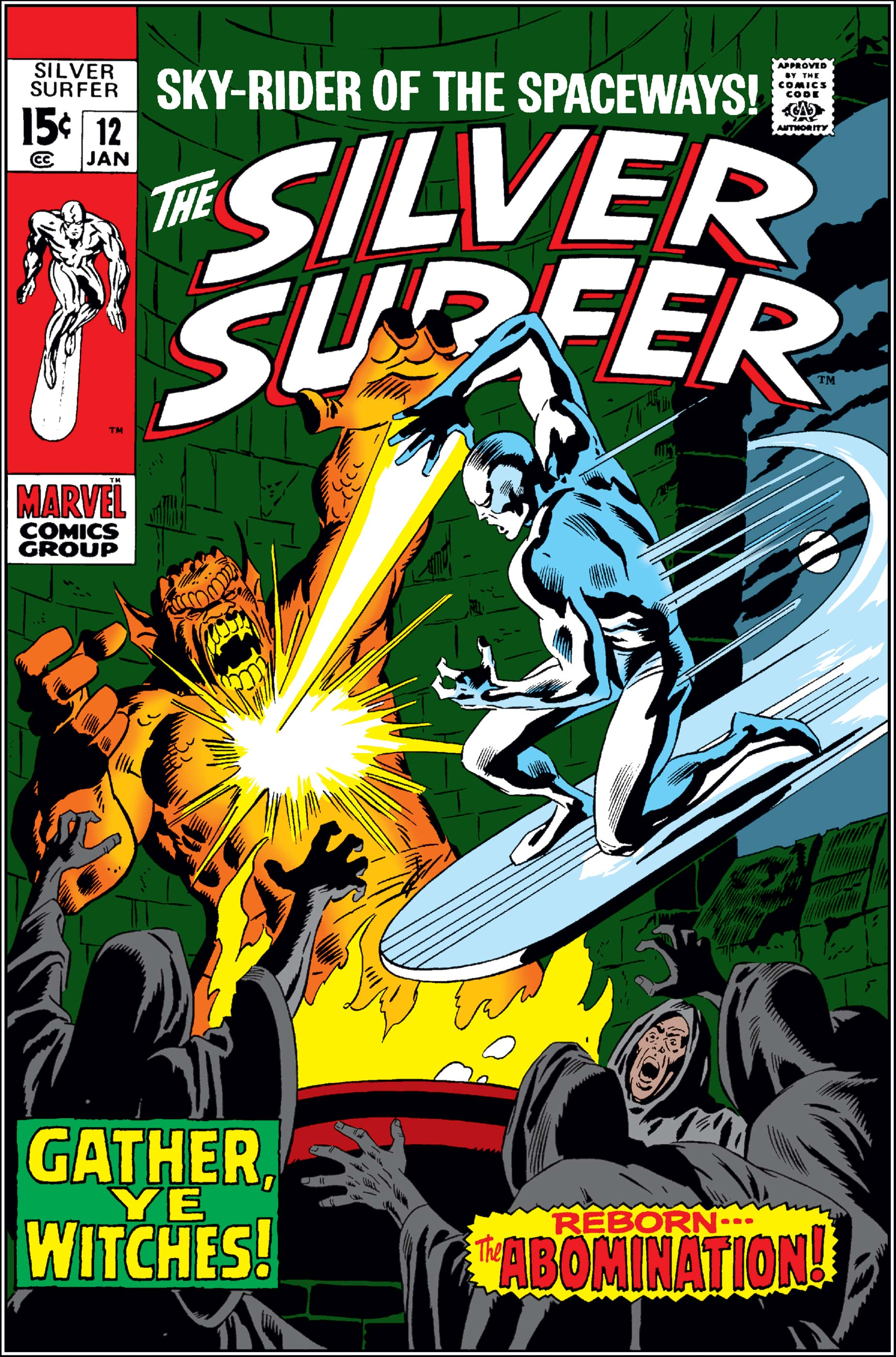 Silver Surfer (1968) #12