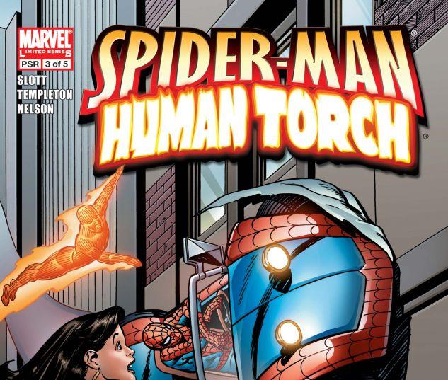 SPIDER-MAN/HUMAN TORCH (2005) #3