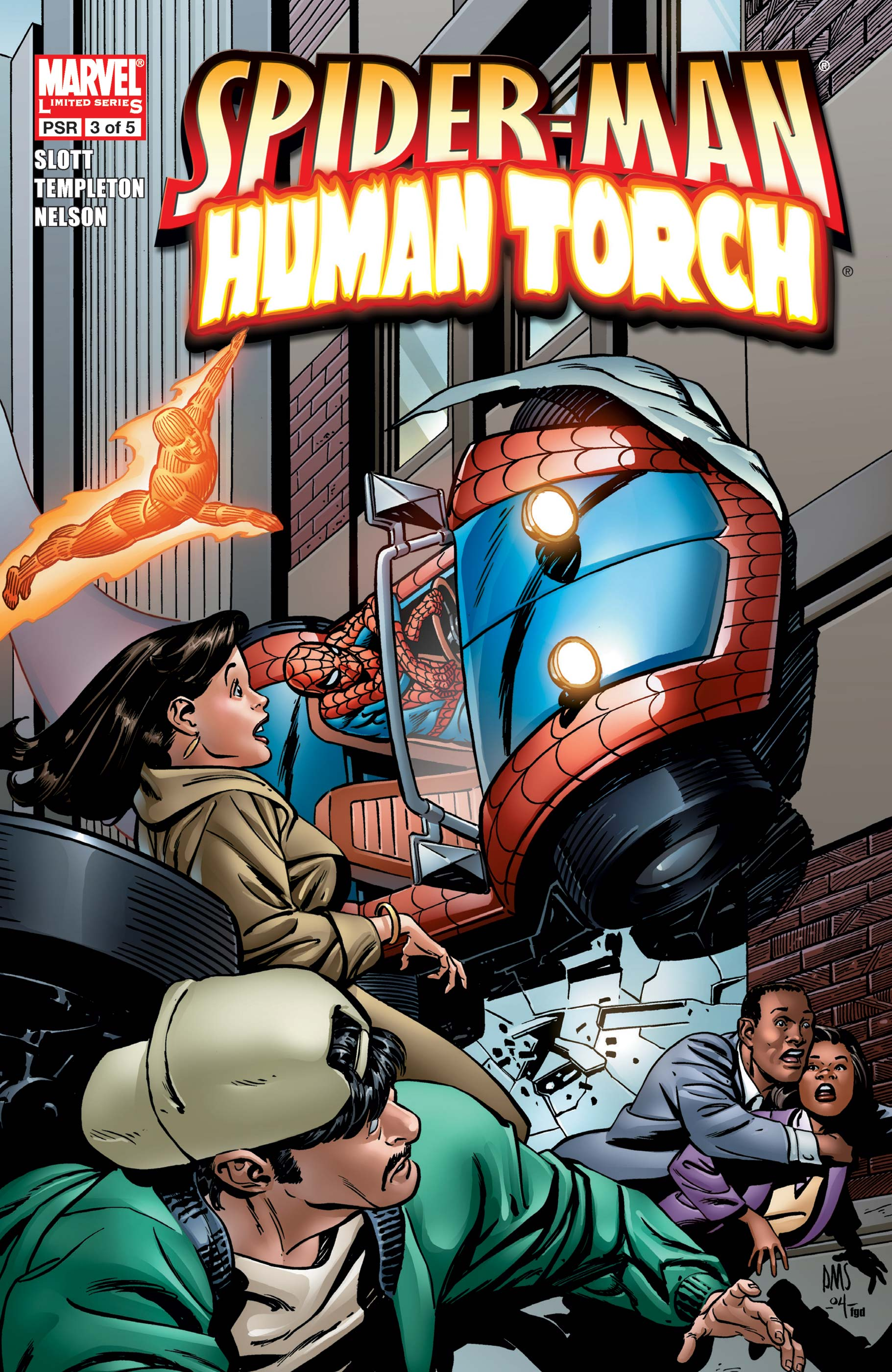 Spider-Man/Human Torch (2005) #3