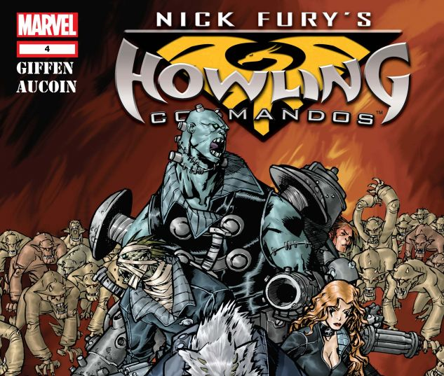 NICK FURY'S HOWLING COMMANDOS (2005) #4
