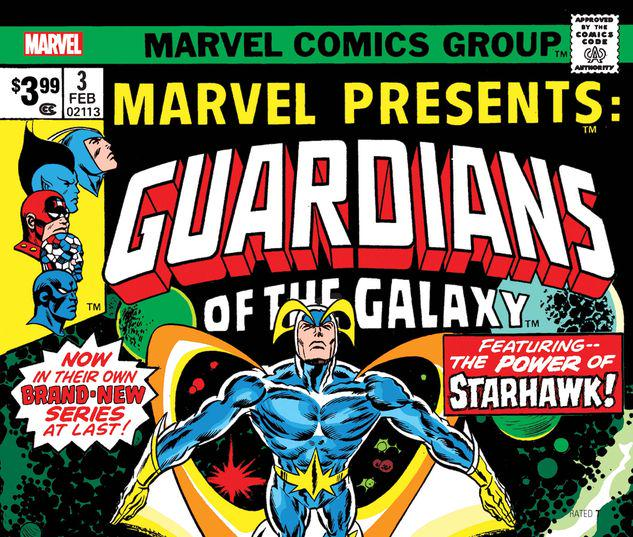 GUARDIANS OF THE GALAXY: MARVEL PRESENTS 3 FACSIMILE EDITION #3