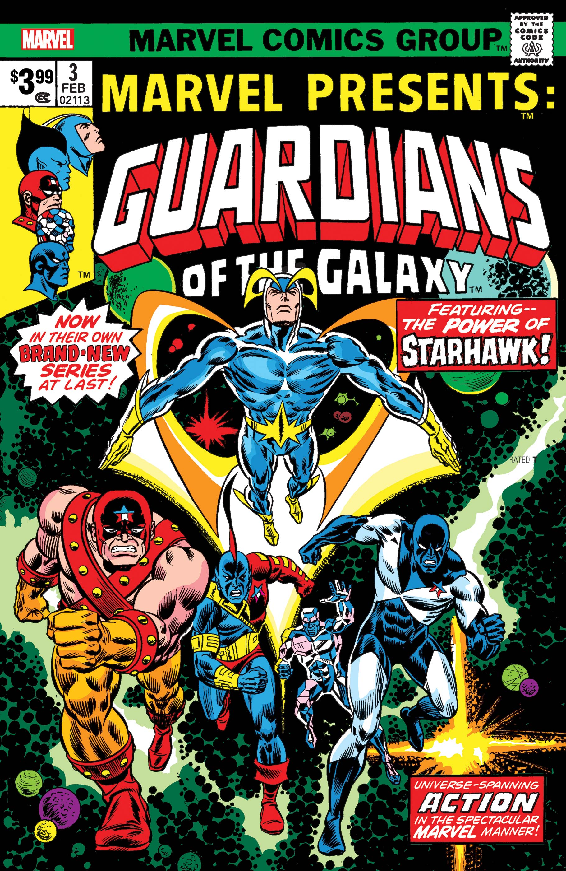 Guardians of the Galaxy: Marvel Presents Facsimile Edition (2019) #3