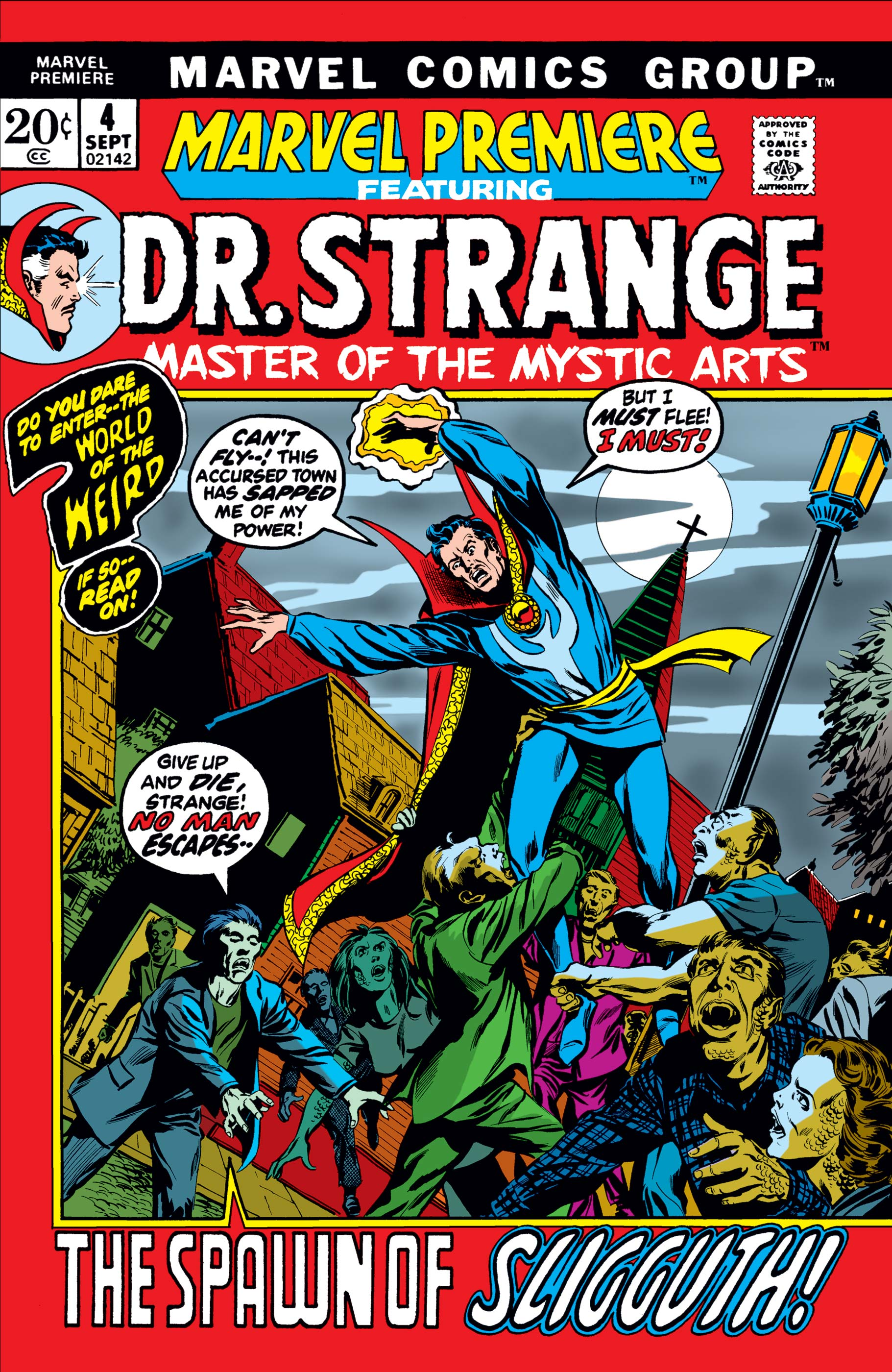 Marvel Premiere (1972) #4