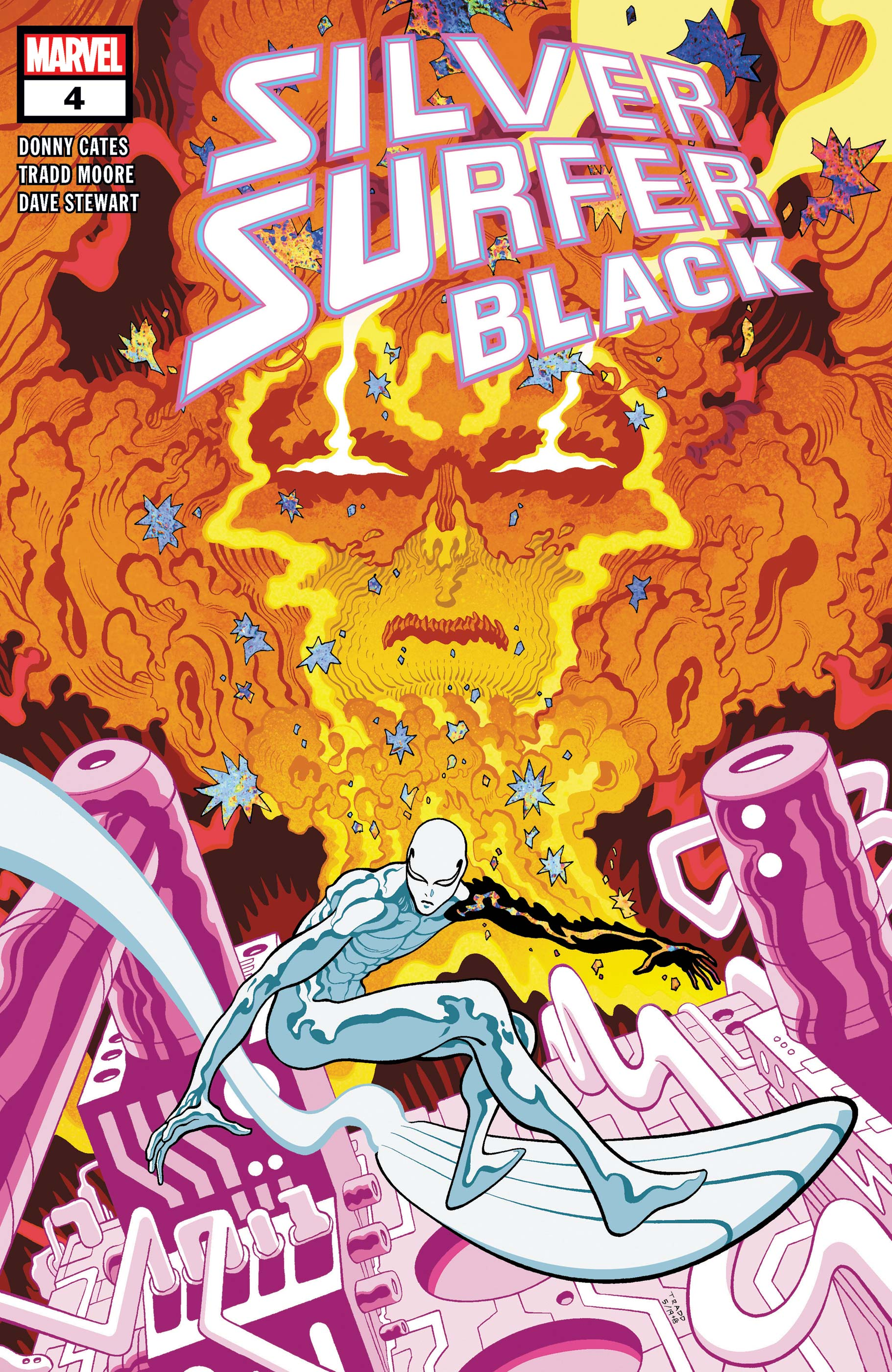 Silver Surfer: Black (2019) #4