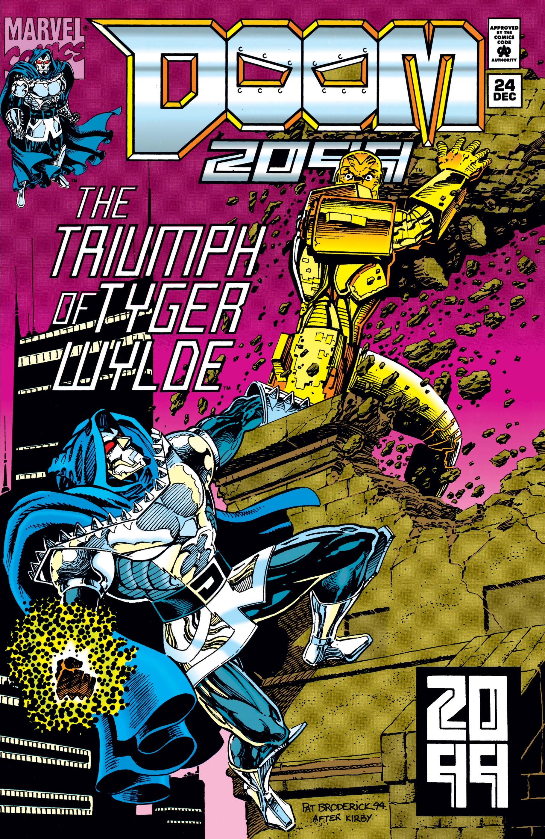 Doom 2099 (1993) #24