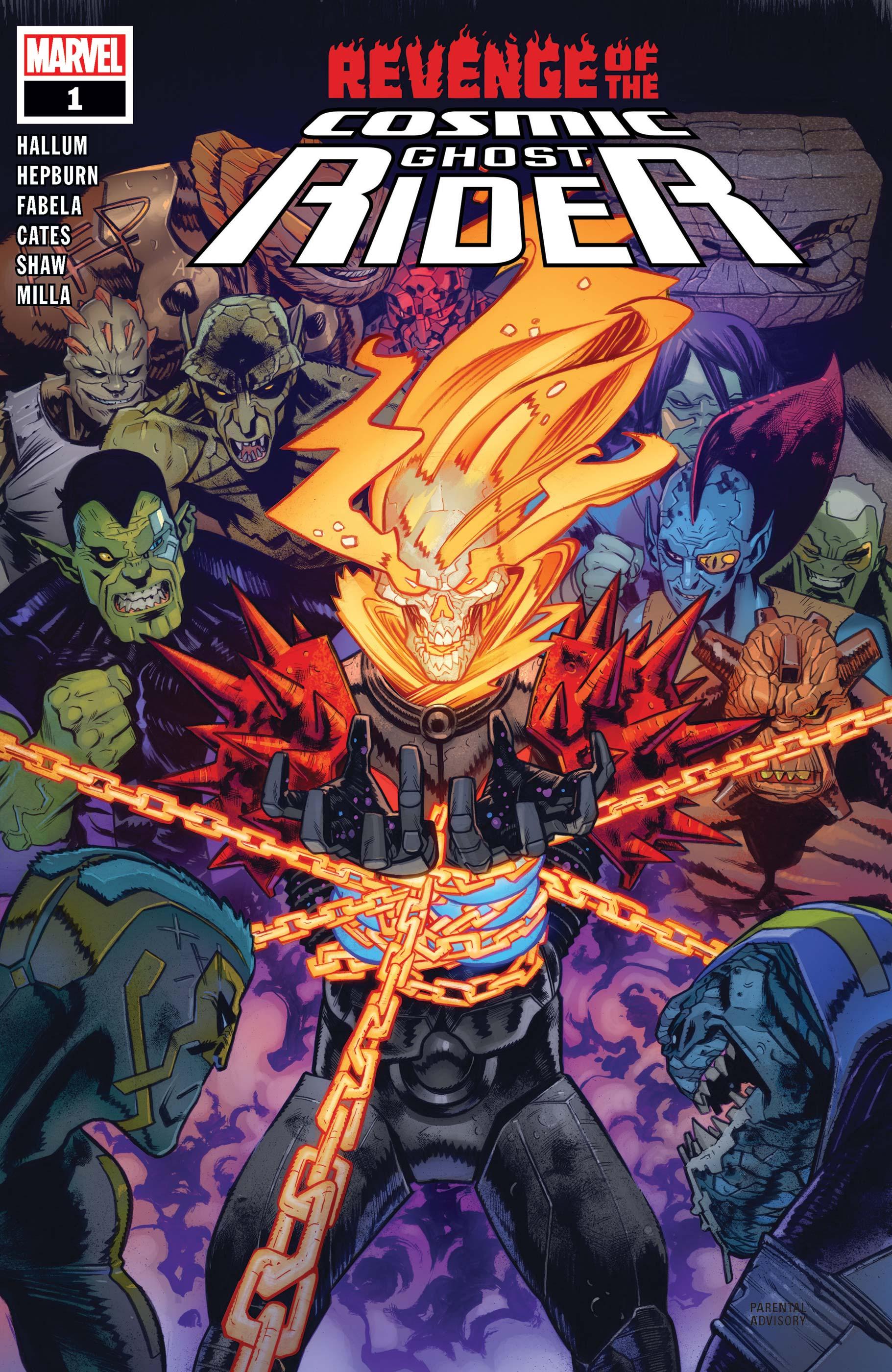 Revenge of the Cosmic Ghost Rider (2019) #1