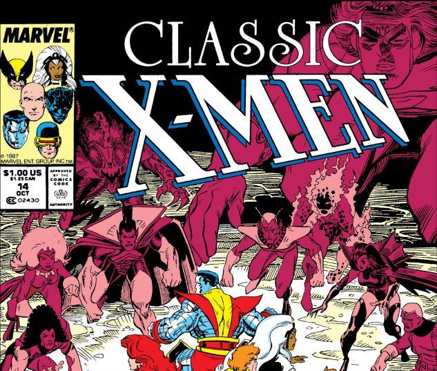 CLASSIC X-MEN (1986) #14