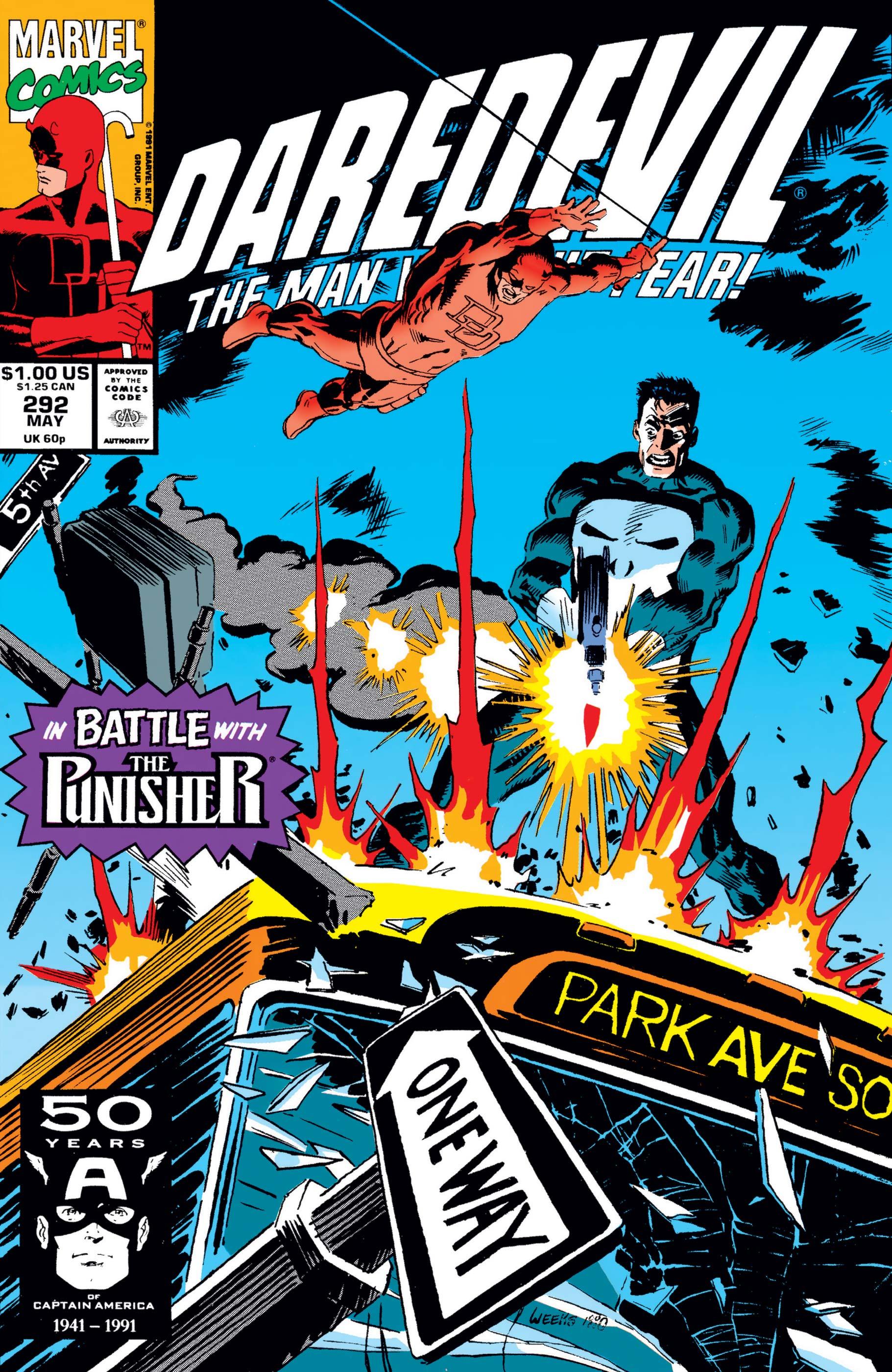 Daredevil (1964) #292