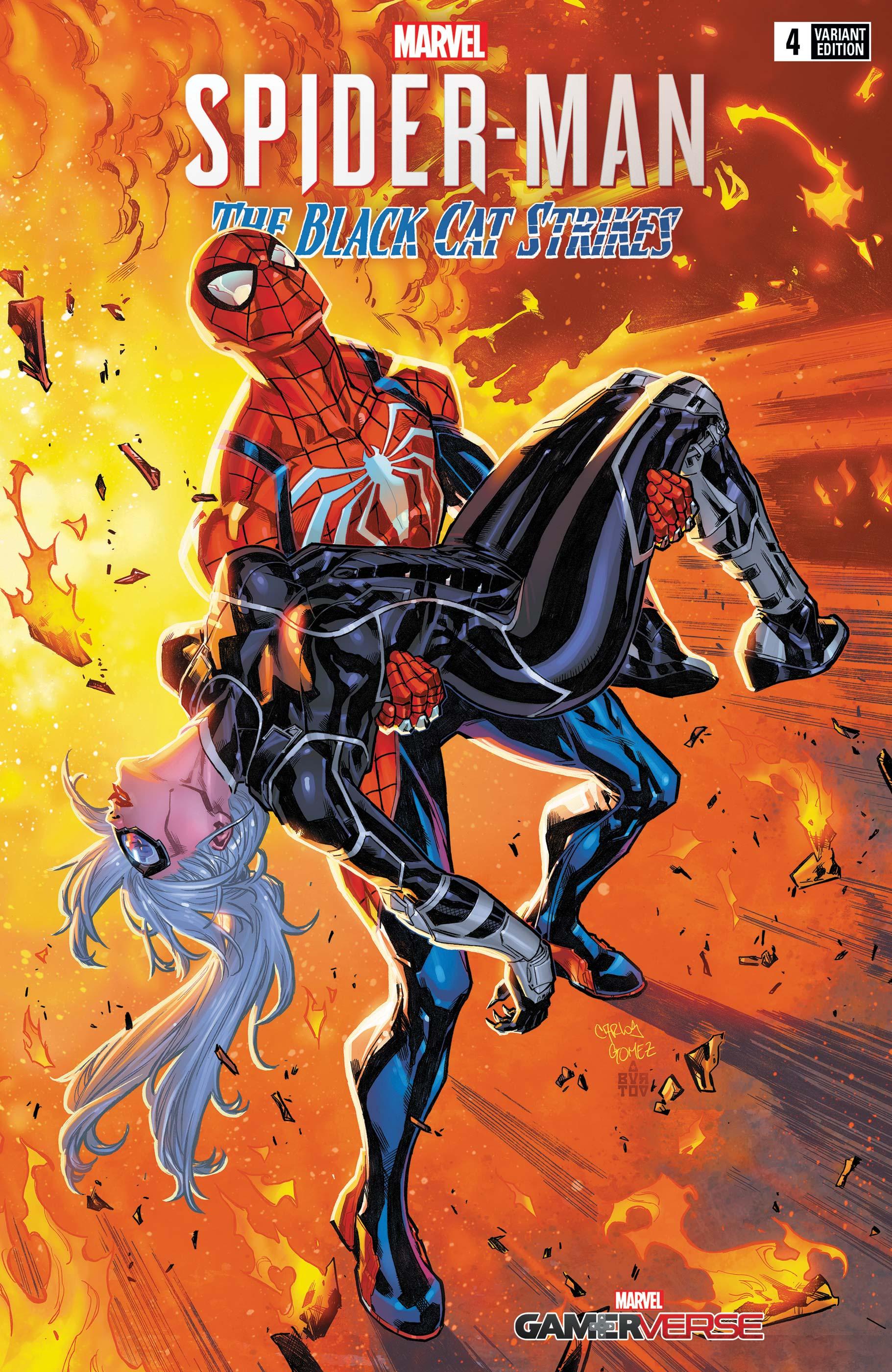 Marvel's Spider-Man: The Black Cat Strikes (2020) #4 (Variant)