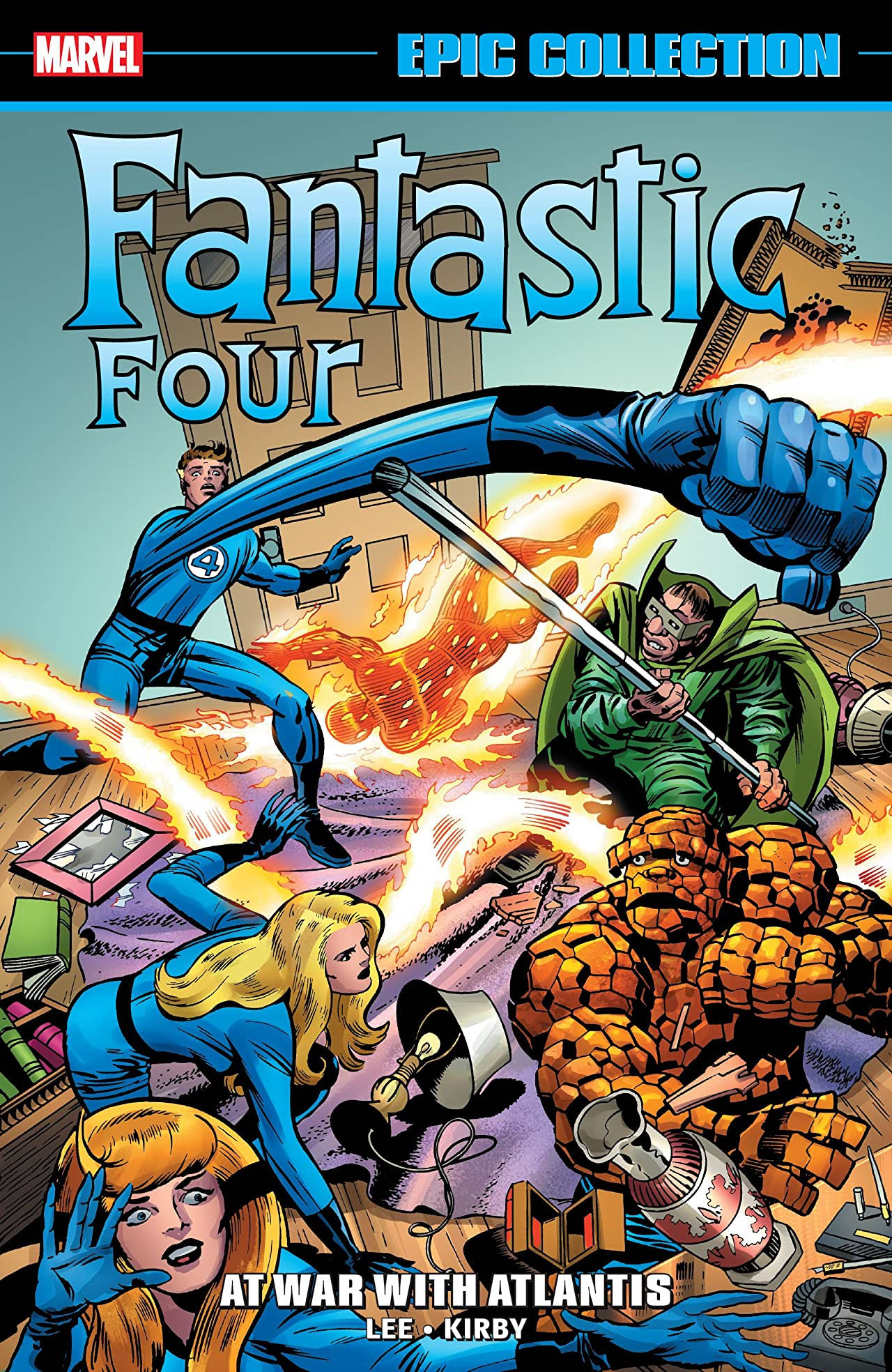 Fantastic Four Epic Collection: At War With Atlantis (Trade Paperback)