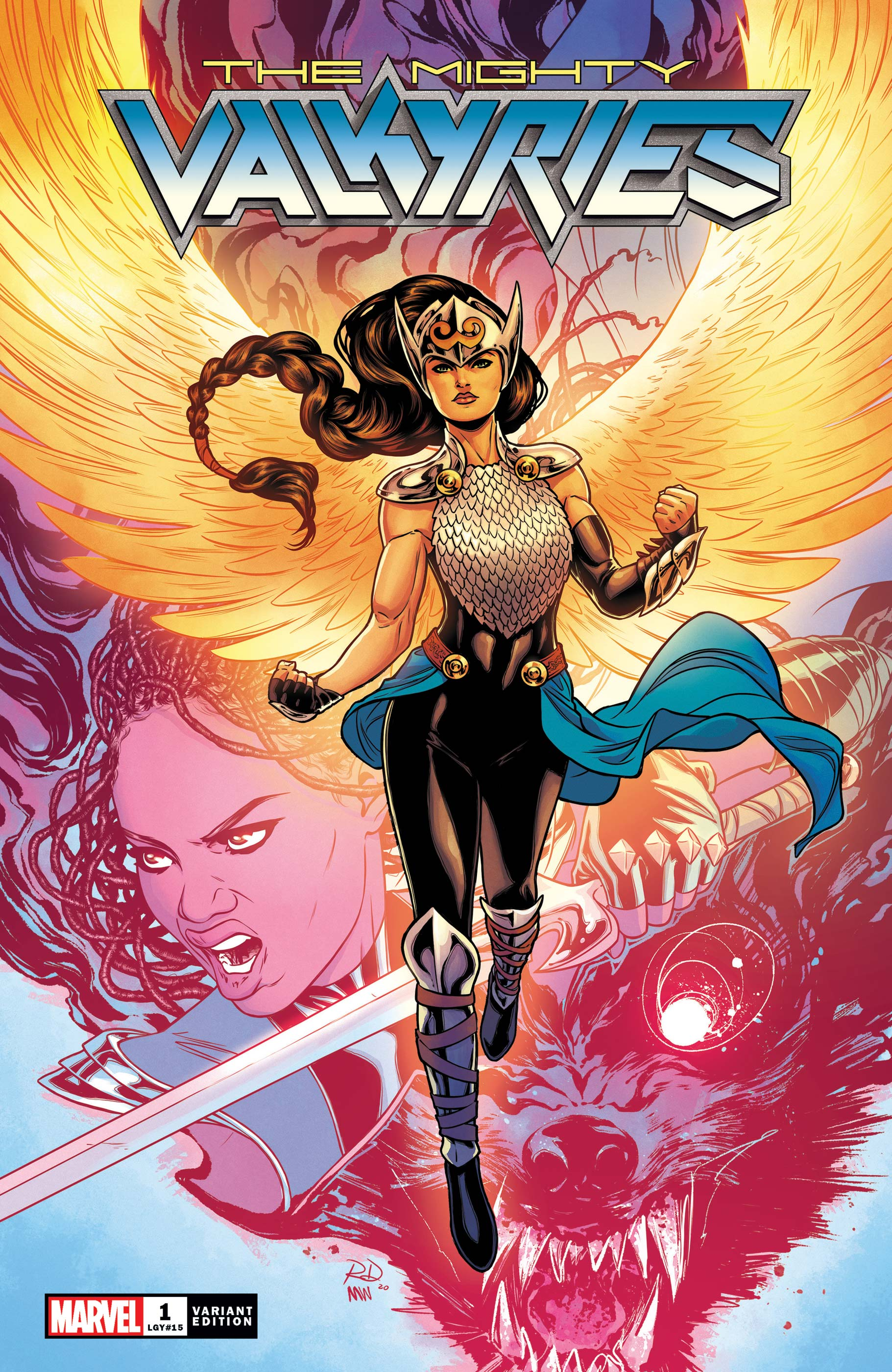The Mighty Valkyries (2021) #1 (Variant)